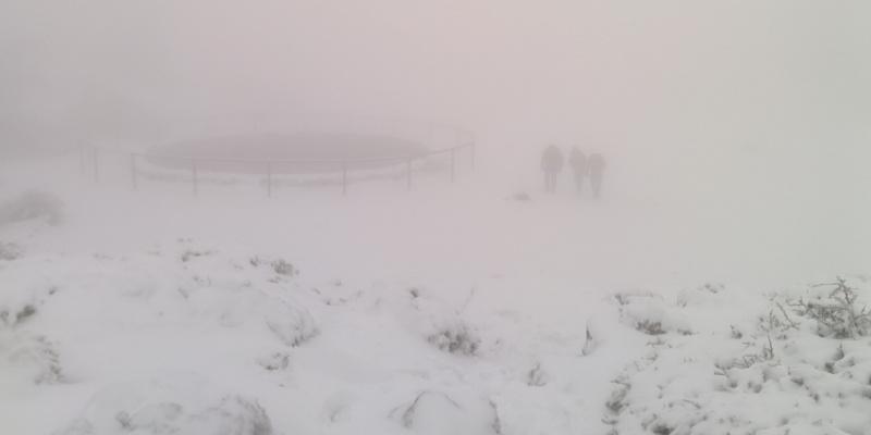 Visibilidad nula a 20 metros