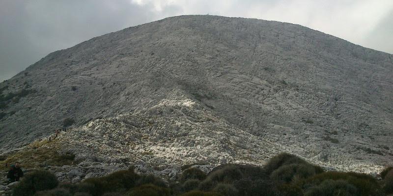 La pared este del Simancon