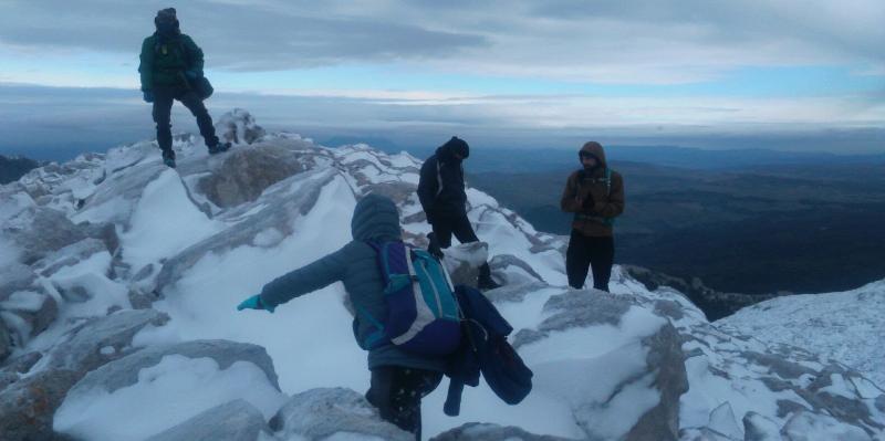 Otro vistazo al Pico Simancon