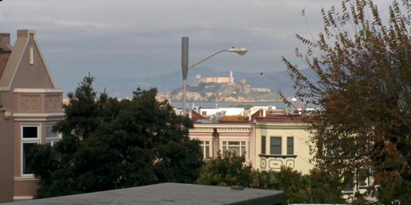 Alcatraz desde San Francisco