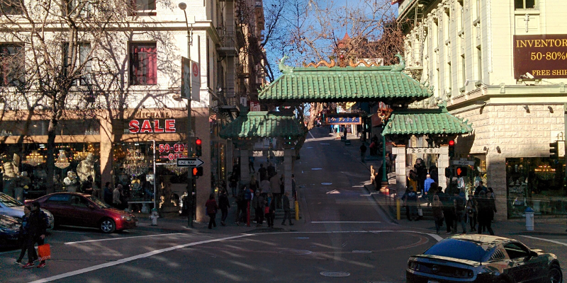 Entrada a chinatown