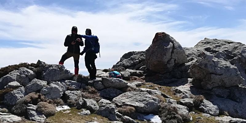 En Sierra Magina, compartiendo la montaña