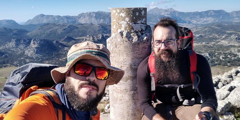 En la cima del Pico Ventana