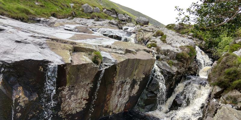 Cascada en Glendalough