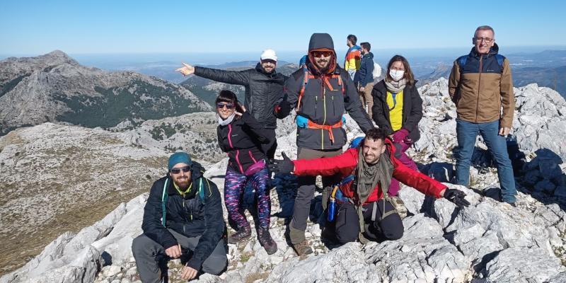 Cima del Pico Simancón