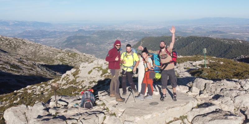 Cima del Pico Mágina