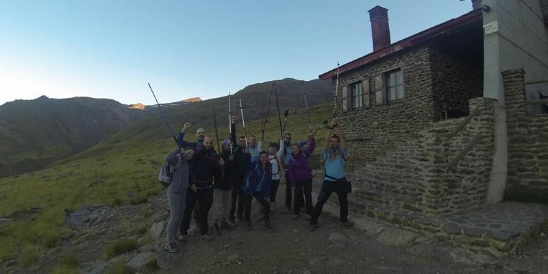 Camino del Refugio Poqueira