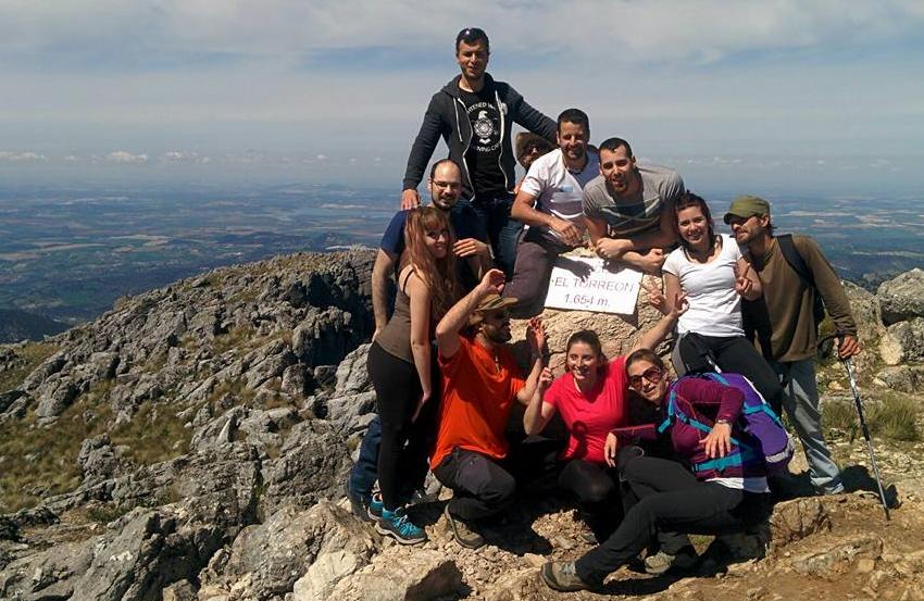 Cima del pico Torreon
