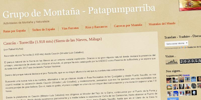Grupo de Montaña Patapumparriba