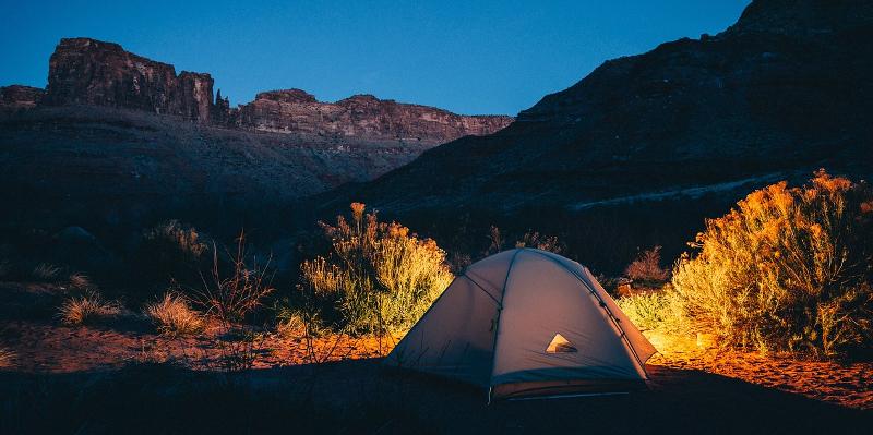 Acampada nocturna