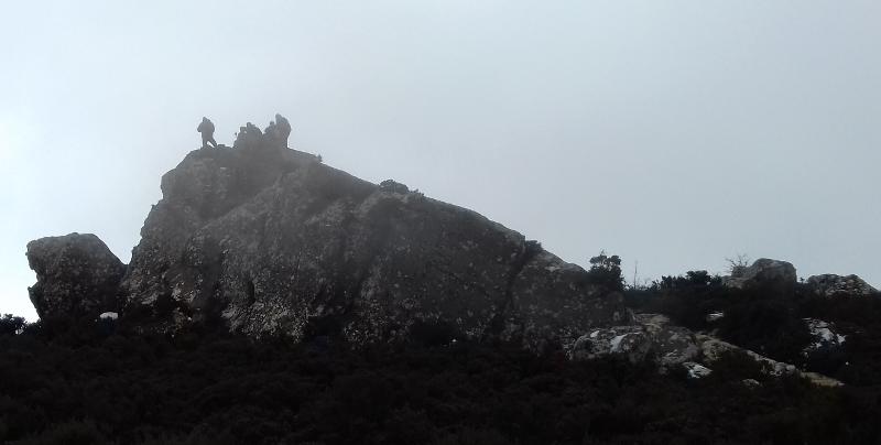 Cima del Pico Aljibe