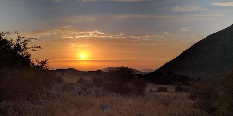 Atardecer en la Sierra de Grazalema, por Jesus Lucena