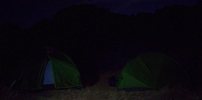 Campamento nocturno