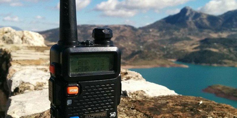 Walkie-Takie en Zahara de la Sierra